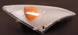 Peugeot Speedfight 1 en 2 knipperlicht compleet wit R.V. DMP