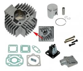 Cilinderkit 45mm aluminium / nikasil met membraan Athena