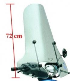 Piaggio ZIP 2000 windscherm hoog origineel