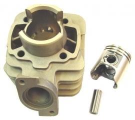 Cilinderkit Vivacity tot 2008, Speedfight 1/2 ac, Buxy 50cc aluminium Dmp