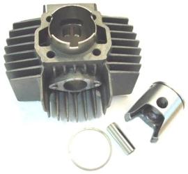 Cilinderkit 45mm 6 poort aluminium / nikasil Dmp