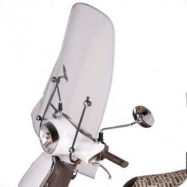 Sym Fiddle 1 / 2 windscherm hoog 56cm origineel
