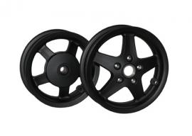 Vespa wielset LX/LXV/S mat zwart DMP
