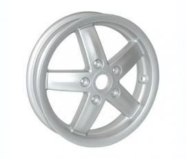 Vespa voorwiel LX/LXV/S zilver origineel