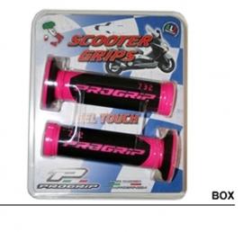Handvatten Pro Grip 732 zwart/roze