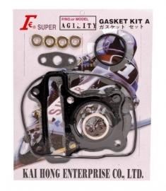 Cilinderpakkingset Kymco 4t compleet met klepseals 50cc
