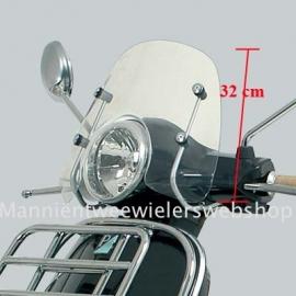 Vespa LX windscherm laag origineel