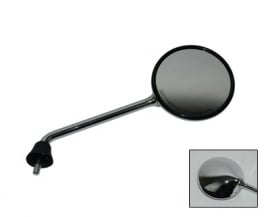 Spiegel LX rechts chroom zonder schroefdraad origineel
