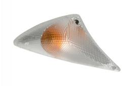Peugeot Speedfight 1 en 2 knipperlicht compleet wit L.V. DMP