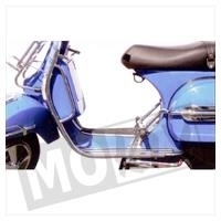 Vespa PX 125 / 150 Voorvalbeugels chroom Faco