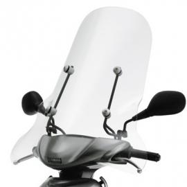 Yamaha Neo`s windscherm hoog