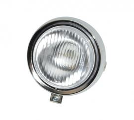 Puch maxi koplamp rond chroom