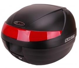 Topkoffer + slede afneembaar Shad SH 29 zwart/rood