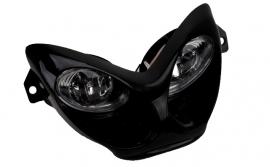 Koplamp Aerox halogeen zwart