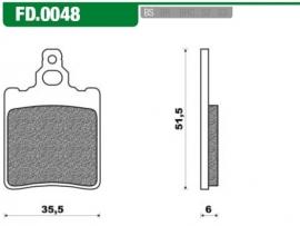 Remblokken Af1, Rs oud diverse Newfren FD0048