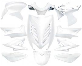 Aerox 11 delig kappenset Dmp special wit