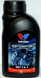 Remvloeistof dot 4 Valvoline 250ml