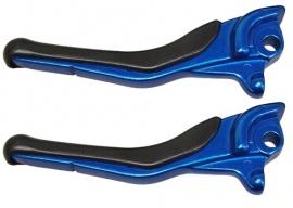 Yamaha Aerox remgreepset blauw Dmp