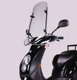 Peugeot windscherm smoke Ludix Trend/Elegance hoog origineel