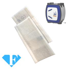 1 set FijnFilters voor HRU ECO BAL 350