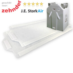 1 set WTW filters voor Zehnder JE Stork Air WHR 930