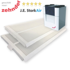 10 WTW filter sets voor Zehnder Comfo Air Q