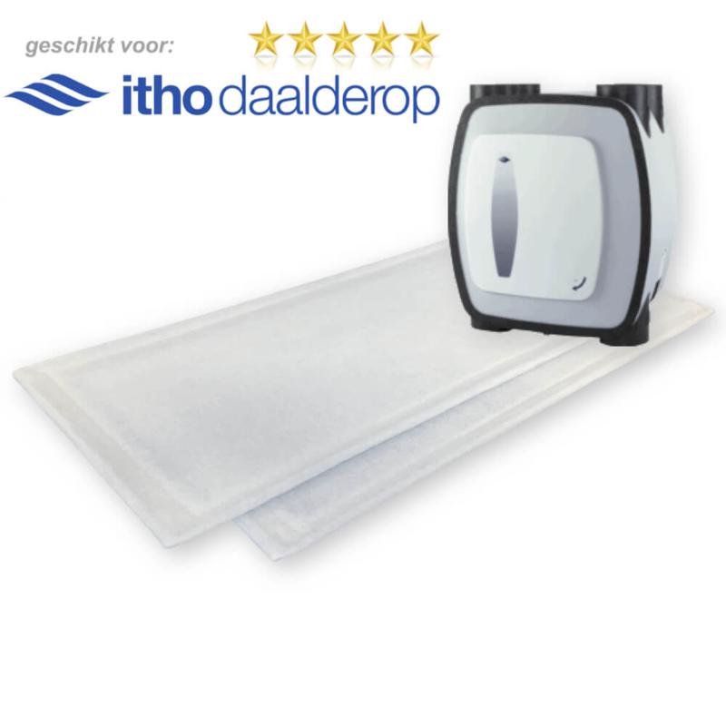 HRU-2/HRU-3 filters voor Itho Daalderop - 100 sets WTW filters