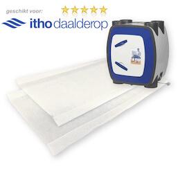 100 sets WTW filters voor Itho Daalderop HRU ECO BAL - VVE VOORDEEL