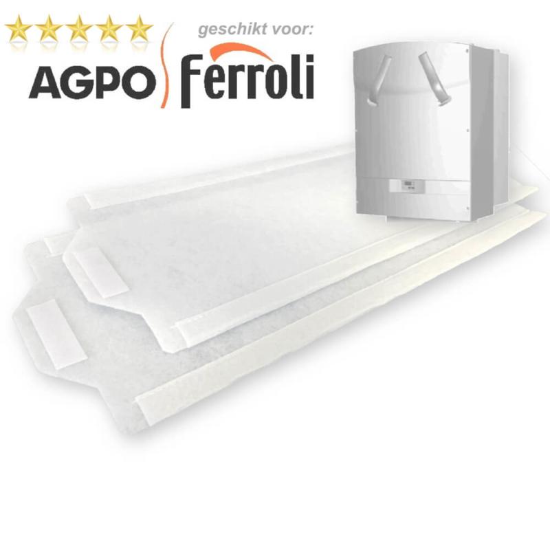 10 sets WTW filters voor Agpo Ferroli HR OptiFor 350 - DOOSVOORDEEL