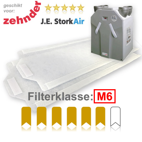 10 WTW FijnFiltersets voor J.E. Stork Air WHR 930