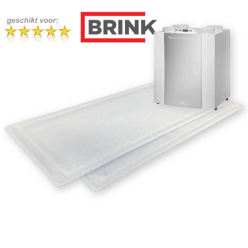 10 sets WTW filters voor Brink Renovent Excellent 300/400 - DOOSVOORDEEL