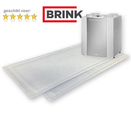 5 sets FijnFilters voor Brink Renovent Excellent 300/400