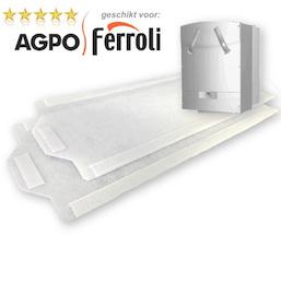 5 sets FijnFilters voor Agpo Ferroli HR OptiFor 350