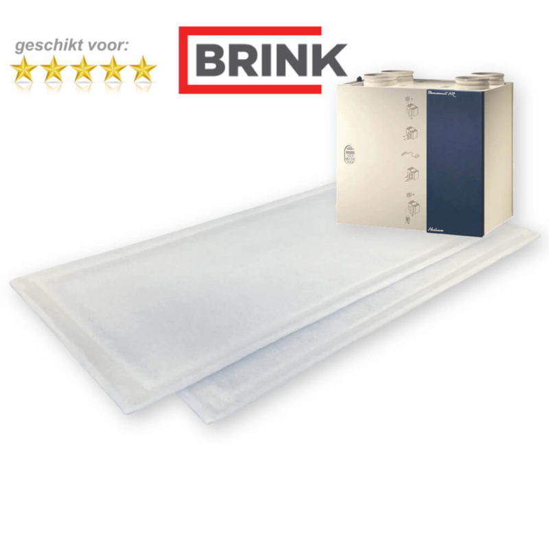 HR 250/325 M/L BYPASS filters voor Brink Renovent - 10 sets WTW filters