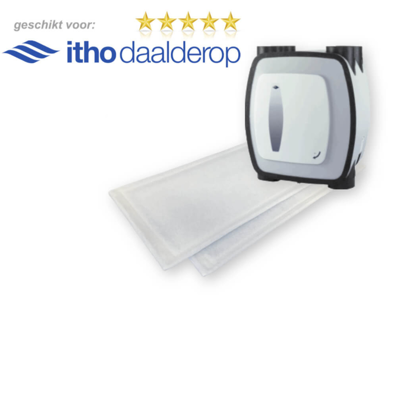 HRU-1 filters voor Itho Daalderop - 100 sets WTW filters