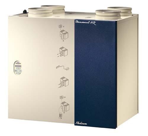 1 set FIJN-Filters voor Brink Renovent HR 250/325 M/L mét Bypass