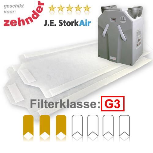 WTW filters G3 voor Zehnder JE StorkAir WHR 930 | Filterman