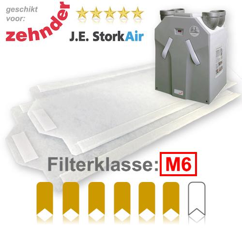 WTW filters M6 voor Zehnder JE StorkAir WHR 930 | Filterman