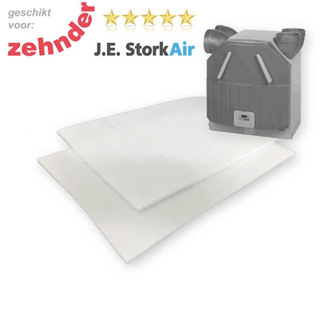 WTW filters voor Zehnder JE Stork Air WHR 90 voor week 41 2001 | Filterman