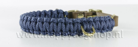 Molly & Stitch halsband Navy Maat XS