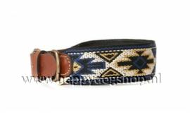 Buddys Dogwear Halsband Peyote Azul Maat M