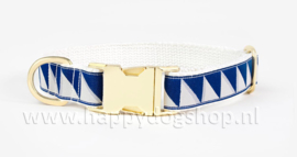 See Scout Sleep Halsband Nice Grill – Navy x Cool Gray x Cream