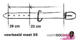 Nata'Chien Halsband Zoe Maat XS (2 cm breed)