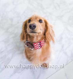 Buddys Dogwear Halsband Peruvian Red Maat M