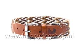 Buddys Halsband Peruvian Marron Maat M