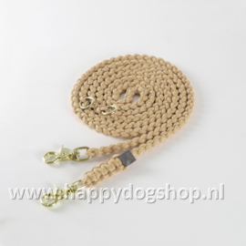 Molly & Stitch Hondenlijn Beige