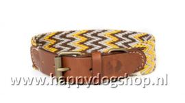 Buddys Dogwear Halsband Peruvian Gold Maat S