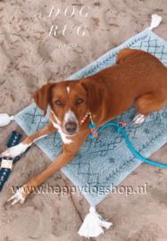Dog Rug To Go Navy/Creme