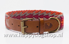 Buddys Dogwear Halsband Peruvian Arrow Orange Maat S