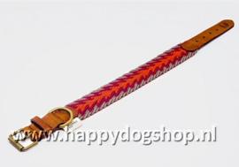 Buddys Dogwear Halsband Peruvian Arrow Orange Maat S